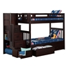 Cascade Twin/Twin Staircase Bunk Bed AB63601 - AB63601