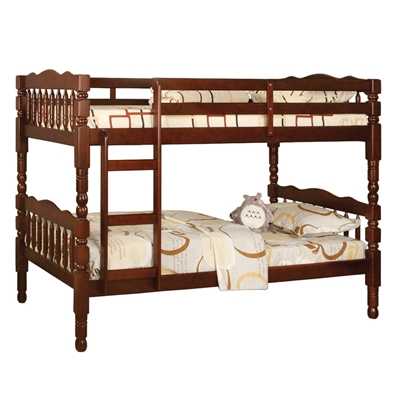 Catalina Twin/Twin Bunk Bed - Cherry CM-BK606CH Catalina Twin/Twin Bunk Bed - Cherry CM-BK606CH