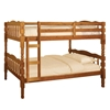 Catalina Twin/Twin Bunk Bed - Oak CM-BK606A Catalina Twin/Twin Bunk Bed - Oak CM-BK606A