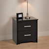 Coal Harbor 2-Drawer Nightstand - Black BCH-2200 - BCH-2200