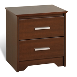 Coal Harbor 2-Drawer Nightstand - Espresso ECH-2200 Coal Harbor 2-Drawer Nightstand - Espresso ECH-2200