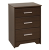 Coal Harbor 3-Drawer Tall Nightstand - Espresso ECH-2027 Coal Harbor 3-Drawer Tall Nightstand - Espresso ECH-2027