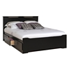 Coal Harbor Storage Platform Bed - Black Coal Harbor Storage Platform Bed - Black
