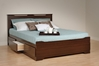 Coal Harbor Storage Platform Bed - Espresso - ESH-6000 + EBD-5600-3KV