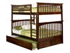 Columbia Full/Full Bunk Bed - Antique Walnut AB55504 - AB55504