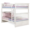Columbia Full/Full Bunk Bed - White AB55502 Columbia Full/Full Bunk Bed - White AB5502