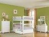 Columbia Full/Full Bunk Bed - White AB55502 - AB55502