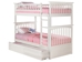 Columbia Twin/Twin Bunk Bed - White AB55102 - AB55102