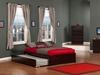 Concord Platform Bed with Flat Panel Footboard - Espresso - AR80X2X11