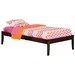 Concord Platform Bed with Open Footrails - Espresso - AR80X1001
