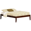 Concord Traditional Bed with Open Footrails - Antique Walnut Concord Traditional Bed with Open Footrails - Antique Walnut