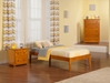 Concord Traditional Bed with Open Footrails - Caramel Latte - AR80X1037