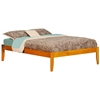Concord Traditional Bed with Open Footrails - Caramel Latte Concord Traditional Bed with Open Footrails - Caramel Latte