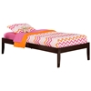 Concord Traditional Bed with Open Footrails - Espresso Concord Traditional Bed with Open Footrails - Espresso