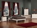 Concord Traditional Bed with Open Footrails - White - AR80X1032