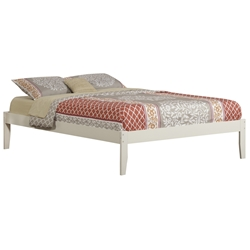 Concord Traditional Bed with Open Footrails - White Concord Traditional Bed with Open Footrails - White