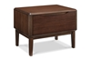 Currant 1-Drawer Nightstand - Black Walnut G0028BL Currant 1-Drawer Nightstand - Black Walnut G0028BL
