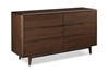 Currant 6-Drawer Dresser - Black Walnut G0030BL Currant 6-Drawer Dresser - Black Walnut G0030BL