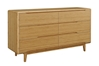 Currant 6-Drawer Dresser - Caramel G0030 Currant 6-Drawer Dresser - Caramel G0030