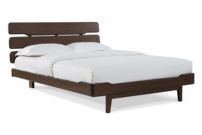 Currant Platform Bed - Black Walnut Currant Platform Bed - Black Walnut