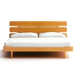 Currant Platform Bed - Caramel Currant Platform Bed - Caramel