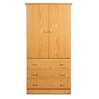 Edenvale 3-Drawer Wardrobe - Oak JOD-3060-K Edenvale 3-Drawer Wardrobe - Oak JOD-3060-K