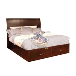 Platform Bed Frames With Drawers modern storage beds - save space in style - platform beds online