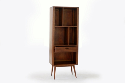 Fifties Solid Wood Bookcase