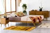 Fifties Platform Bed - Danish Honey - HL-FIF-TK-DH-BD