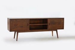 Fifties Solid Wood TV Console