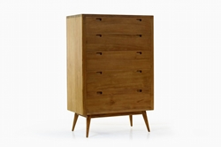 Fifties Tower Dresser - Danish Honey