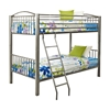 Gridiron Twin/Twin Bunk Bed Gridiron Twin/Twin Girls Bunk Bed