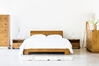 Kobe Platform Bed - Danish Honey - HL-KOBE-TK-DH-BD