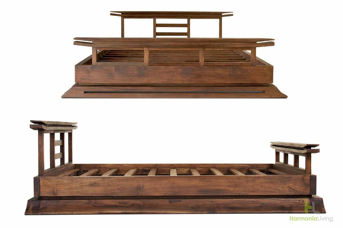 Japanese platform bed frame - Japanese Platform Bed Frame 10
