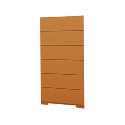 Blok 6-Drawer Chest - Oak HL-BLOK-OAK-6CH Blok 6-Drawer Chest - Oak HL-BLOK-OAK-6CH