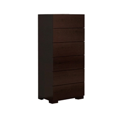 Blok 6-Drawer Chest - Wenge HL-BLOK-WEN-6CH Blok 6-Drawer Chest - Wenge HL-BLOK-WEN-6CH