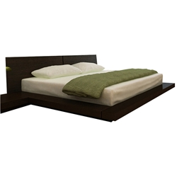 Queen Platform Bed Frames queen size platform beds - modern beds with free shipping
