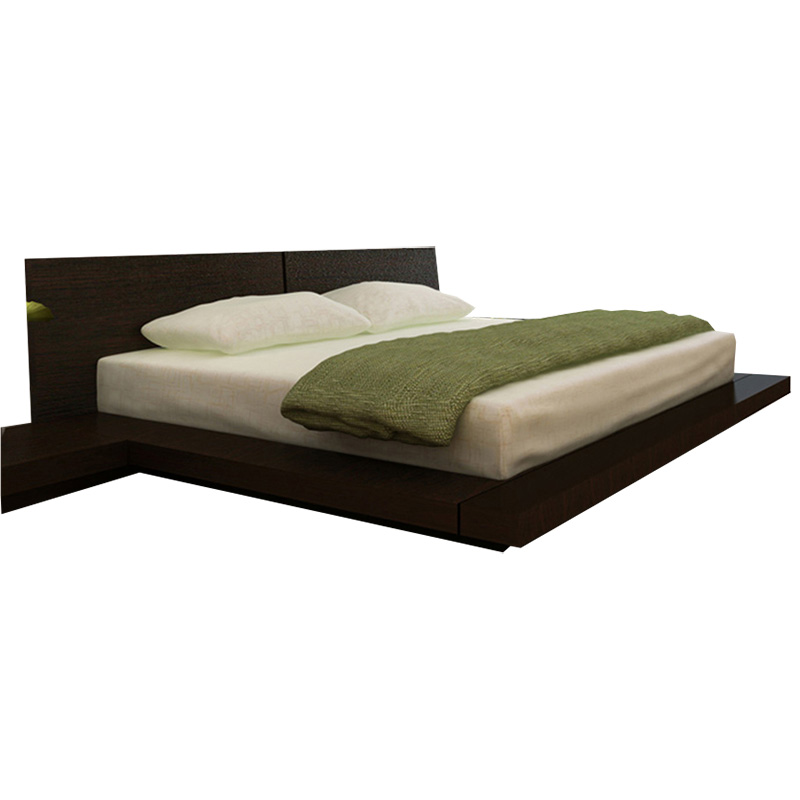 Kooning Platform Bed   Wenge HL KOON WEN BD WEN