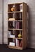 LAX Series 2x5 Bookcase LAX.29.72.15.W - LAX.29.72.15.W