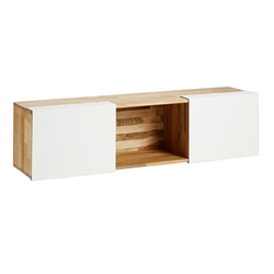 LAX Series 3x Wall-Mounted Shelf LAX.58.13.14.WC.WALL LAX Series 3x Wall-Mounted Shelf LAX.58.13.14.WC.WALL