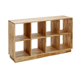 LAX Series 4x2 Bookcase LAX.58.32.15.W LAX Series 4x2 Bookcase LAX.58.32.15.W
