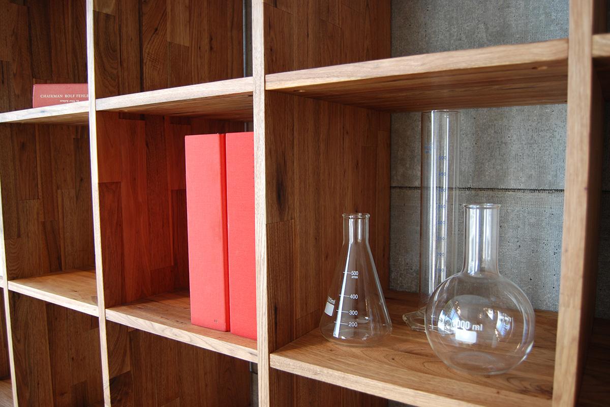 Lax Series Platform Bed lax series 5x5 bookcase lax.72.72.15.w.3