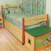 Leaping Lizards Twin Platform Bed If your kid loves the zoo they're gonna love our Leaping Lizards Twin Bed!