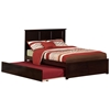 Madison Platform Bed with Flat Panel Footboard - Espresso Madison Platform Bed with Flat Panel Footboard - Espresso