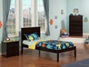 Madison Platform Bed with Open Footrails - Espresso - AR8621001