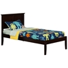 Madison Platform Bed with Open Footrails - Espresso Madison Platform Bed with Open Footrails - Espresso