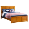 Madison Traditional Bed with Matching Footboard - Caramel Latte Madison Traditional Bed with Matching Footboard - Caramel Latte