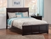 Madison Traditional Bed with Matching Footboard - Espresso - AR86X6031