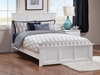 Madison Traditional Bed with Matching Footboard - White - AR86X6032