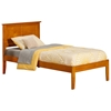 Madison Traditional Bed with Open Footrails - Caramel Latte - AR86X1037